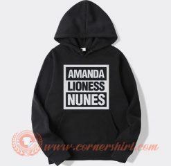 Amanda Nunes The Lioness MMA Hoodie