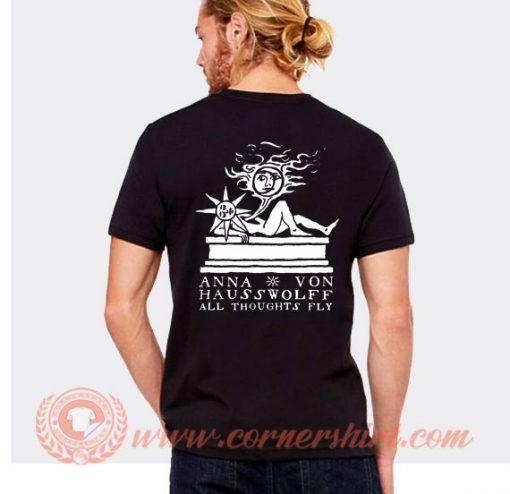 Anna von Hausswolff All Thoughts Fly T-shirt