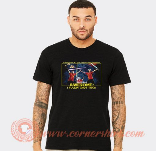 Beastie Boys Awesome I Fuckin Shot That T-shirt