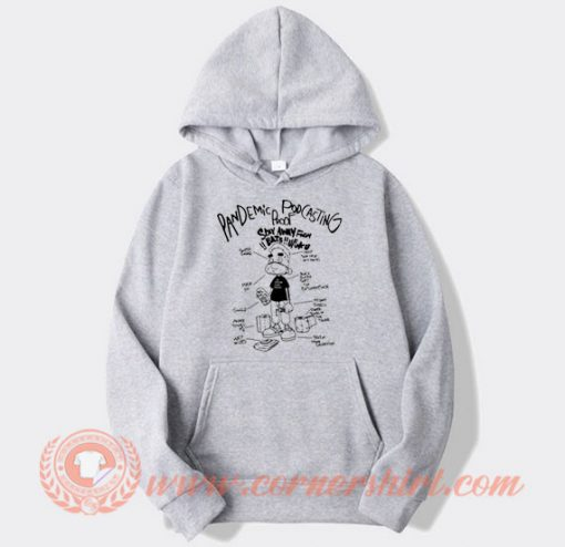 Michael Rapaport Stereo Pandemic Podcast Hoodie