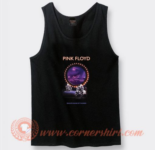 Pink Floyd Delicate Sound Of Thunder Tank Top