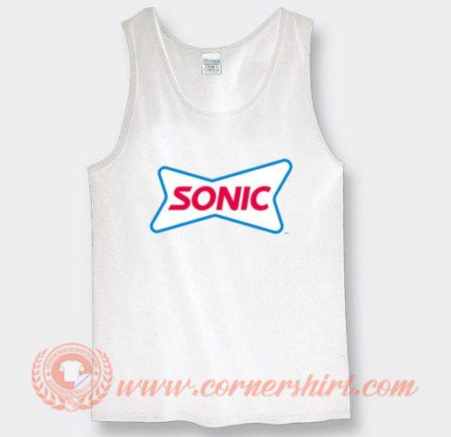 Sonic Drive In Tank Top
