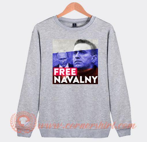Free Alexei Navalny Sweatshirt