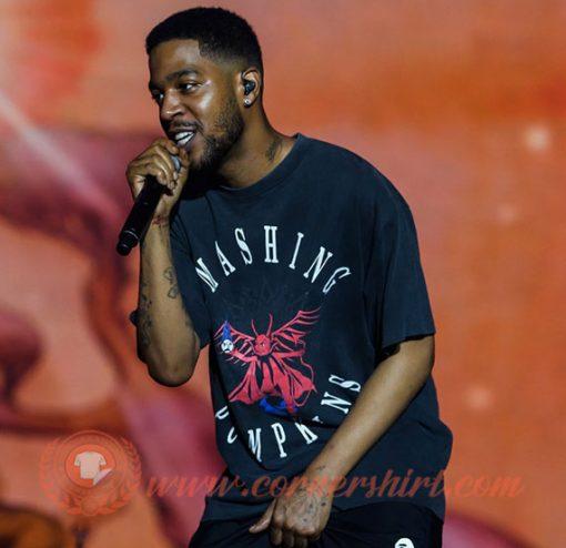 Kid Cudi Smashing Pumpkins Mission To Mars T-shirt