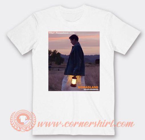 Nomadland Best Movie 2021 T-shirt