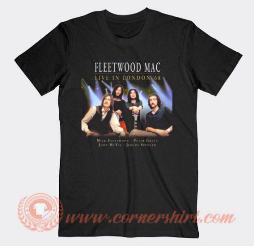 Fleetwood Mac Live In London 68 T-shirt