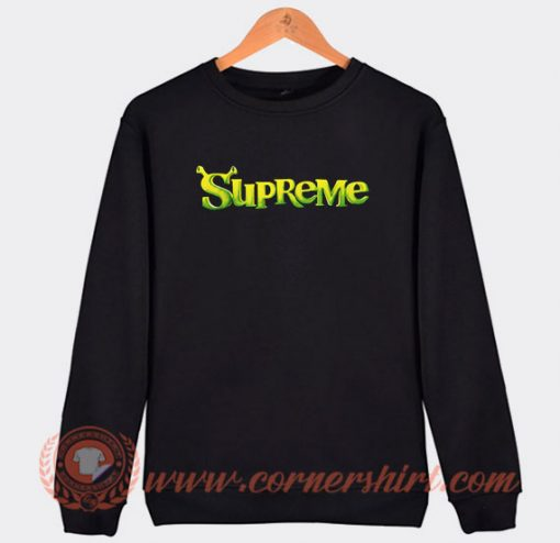 Spreme Shrek Parody Sweatshirt
