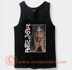 Tupac Poetic Justice Deep Thought Tank Top