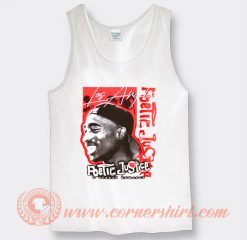 Tupac Poetic Justice a Street Romance Tank Top