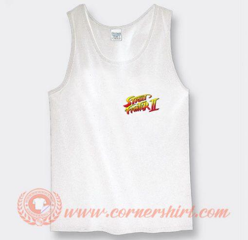 Street Fighter II Logo Tank Top