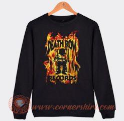 Vintage Death Row records Flame Sweatshirt