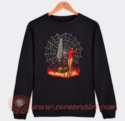 Pet Spider And Girl Devils Sweatshirt