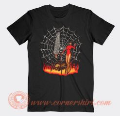 Pet Spider And Girl Devils T-shirt