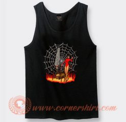 Pet Spider And Girl Devils Tank Top