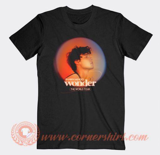 Shawn Mendes Wonder World Tour T-shirt